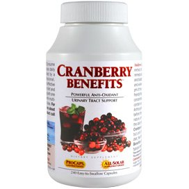 Benefits of cranberry supplements