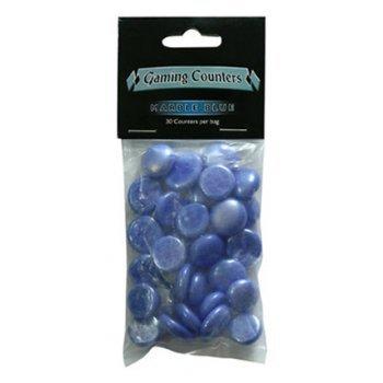 Arcane Tinmen 20207 - Gaming Counter Marble Blue, 30 Stück