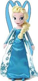 Disney Frozen Elsa Plush Backpack - 1