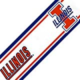 Illinois 5.5 Inch (Height) Wallpaper Border at Amazon.com