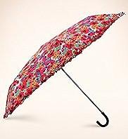 Per Una Frill Trim Floral Umbrella