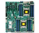 Supermicro Motherboard EATX (Extended ATX) DDR3 1600 Intel LGA 2011 Motherboards X9DRH-7TF-O