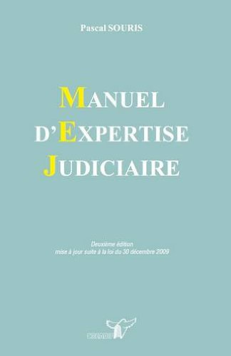 Manuel d'expertise judiciaire