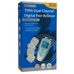 Lloyds Pharmacy TENS Dual Channel Digital Pain Reliever