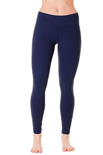 90 Degree by Reflex Power Flex Yoga Pants - Navy - XS