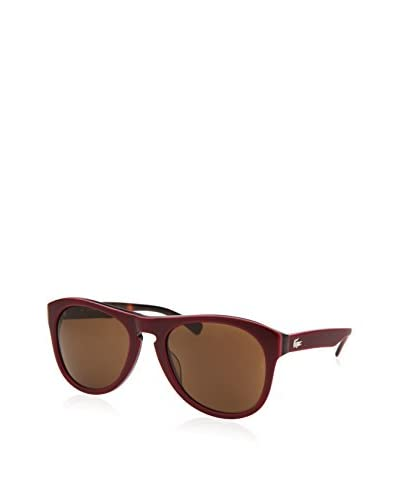 Lacoste Men's L684S Sunglasses, Burgundy/Brown