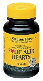 Nature'S Plus Folic Acid Hearts -- 90 Tablets