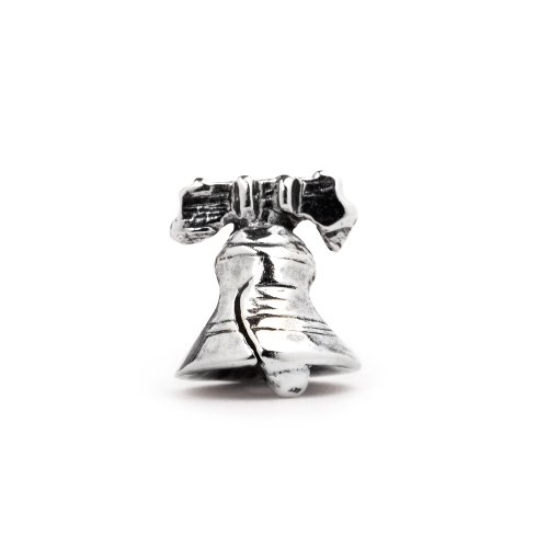 Liberty Bell Charm Sterling Silver, Fits European Bead Bracelets