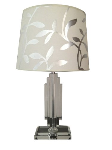 Silver Bedside Table 1509 front
