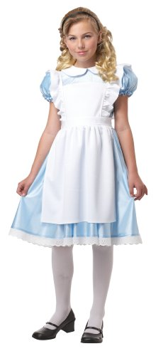 Alice Girl's Costume, Small, One Color