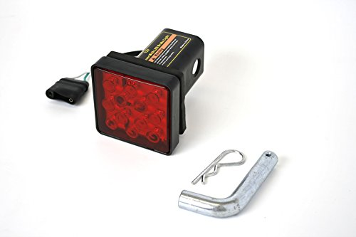 MaxxHaul 70429 Trailer Hitch Cover with 12 LEDs Brake Light (Led Tow Hitch Cover compare prices)