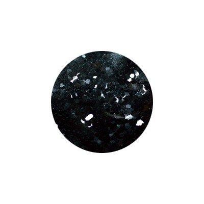 shu shu ピカエース #452 六角カラー 1mm ブラック