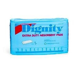 Dignity Extra Duty Absorbent Pads - Moderate to Heavy Protection - - Pack of 30