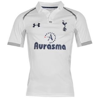 Under Armour Tottenham Hotspur Home Shirt 2012 201 White 13 (XLB)