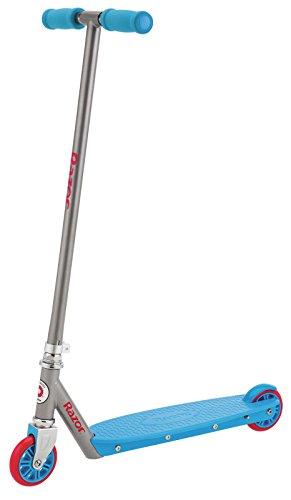 Razor Berry Steel-Frame Foam-Grip Handlebar Folding 2-Wheel Blue Kick Scooter
