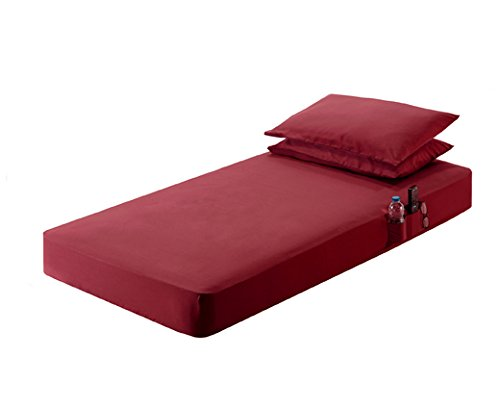 42x80 sheets set Burgundy (Truck Cab Bed compare prices)