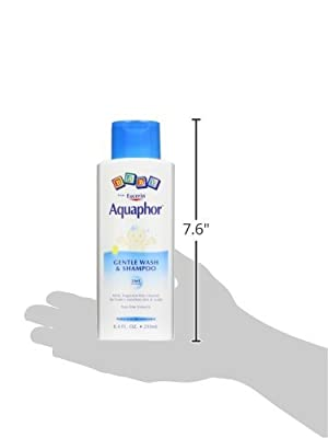 Aquaphor Baby Gentle Wash & Shampoo Tear Free, Fragrance Free Mild Cleanser, 13.5 Ounce