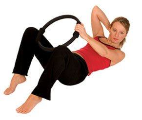 Pilates Fitness Ring Aeromat Exercise Ring by Healiohealth