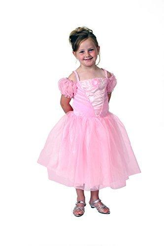 Girls Pink Tea Party Princess Dress Size 4/6