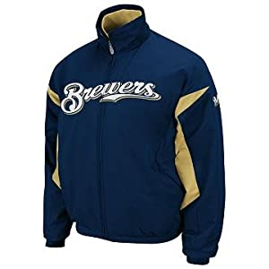 Milwaukee Brewers Therma Base Elevation Premier Jacket by Majestic