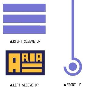 ARIA カンパニー Tシャツ/WHITE-XL