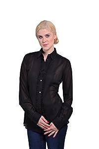 Dolce & Gabbana Women's Button Down Collar Long Sleeve Blouse