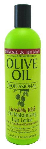 Organic Root Olive Oil Professional Hair Lotion Oil Moist 23 oz.