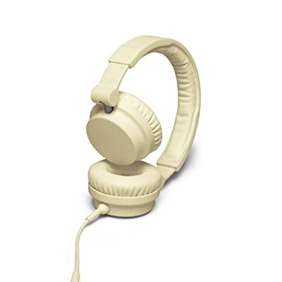 UrbanEars Zinken DJ Headphones with Microphone and Remote Control - Cream