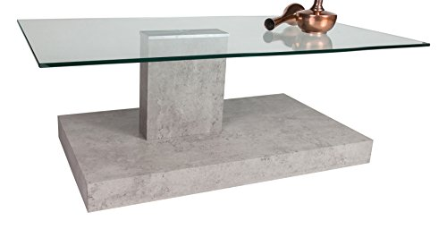 Fresh HL Design Jonas Concrete x x cm Wood Coffee Table Features