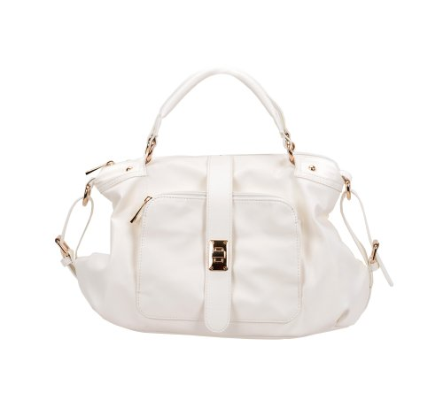 Fash'S Everyday Classic Handbag - White