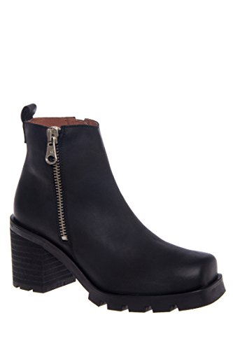 Penny Side Zip High Heel Bootie