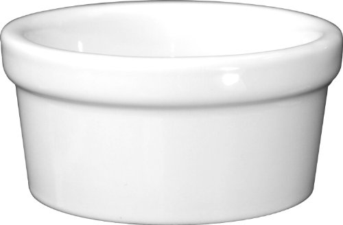 ITI-RAM-35-EW European White Ramekin, 3-1/2-Ounce, 48-Piece