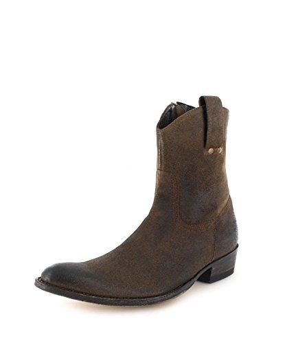 Sendra Boots 7370, Stivali western uomo, Marrone (Harley Usado Negro), 46