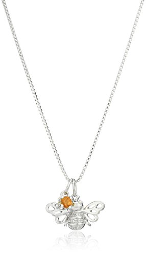 xpy-sterling-silver-bumble-bee-and-citrine-charm-with-diamond-accent-pendant-necklace-18