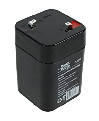6V 5Ah SLA Rechargeable Battery