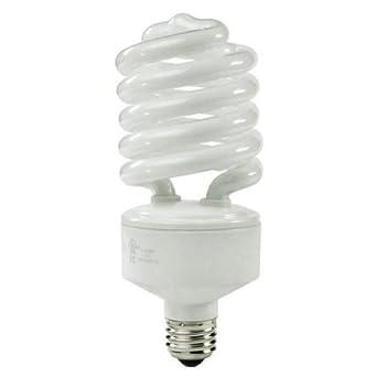 42 watt spring cfl light bulb 150 to 200 watts spiral shaped compact fluorescent bulbs. Black Bedroom Furniture Sets. Home Design Ideas