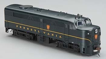 Bachmann Prr Ho Scale Alcofa2 Diesel Locomotive - Dcc Sound Value On Board (Single Stripe Keystone) front-532561