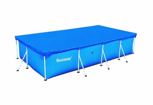 Bestway 58107 copertura per piscina 400x211 cm for Bestway piscine e accessori