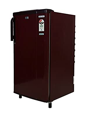 Videocon VAE183 Chill Mate Direct-cool Single-door Refrigerator (170 Ltrs, 3 Star Rating, Burgundy Red)