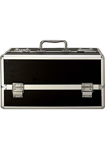 Lockable Vibrator Case Super-sized Large - Black