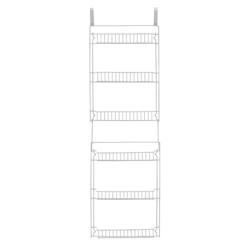 Storage Dynamics 5-Foot Vinyl Covered Steel Over door Storage Basket Rack (Over Door Metal Rack compare prices)