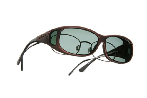 Cocoons Mini Slim Sunglasses (MS), Burgundy Frame- Gray Lens, Model C419G