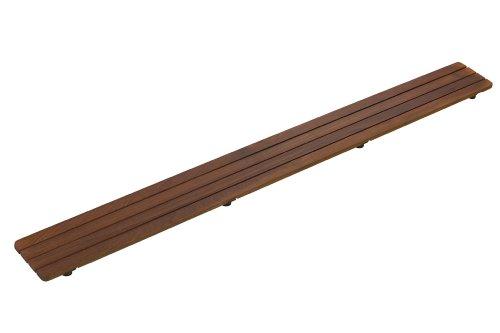 Kohler k na groove teak drain cover inch receptor