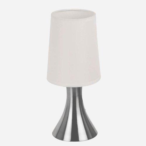 2x Nachttischlampe Tischleuchte mit Touchfunktion