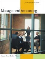Management Accounting, 6th Canadian edition