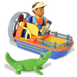 Go Diego Go! To The Rescue Vehicle - Fan Boat