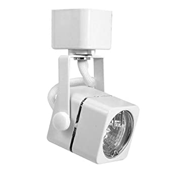 elco lighting et332w track 22 mr11 soft square fixture