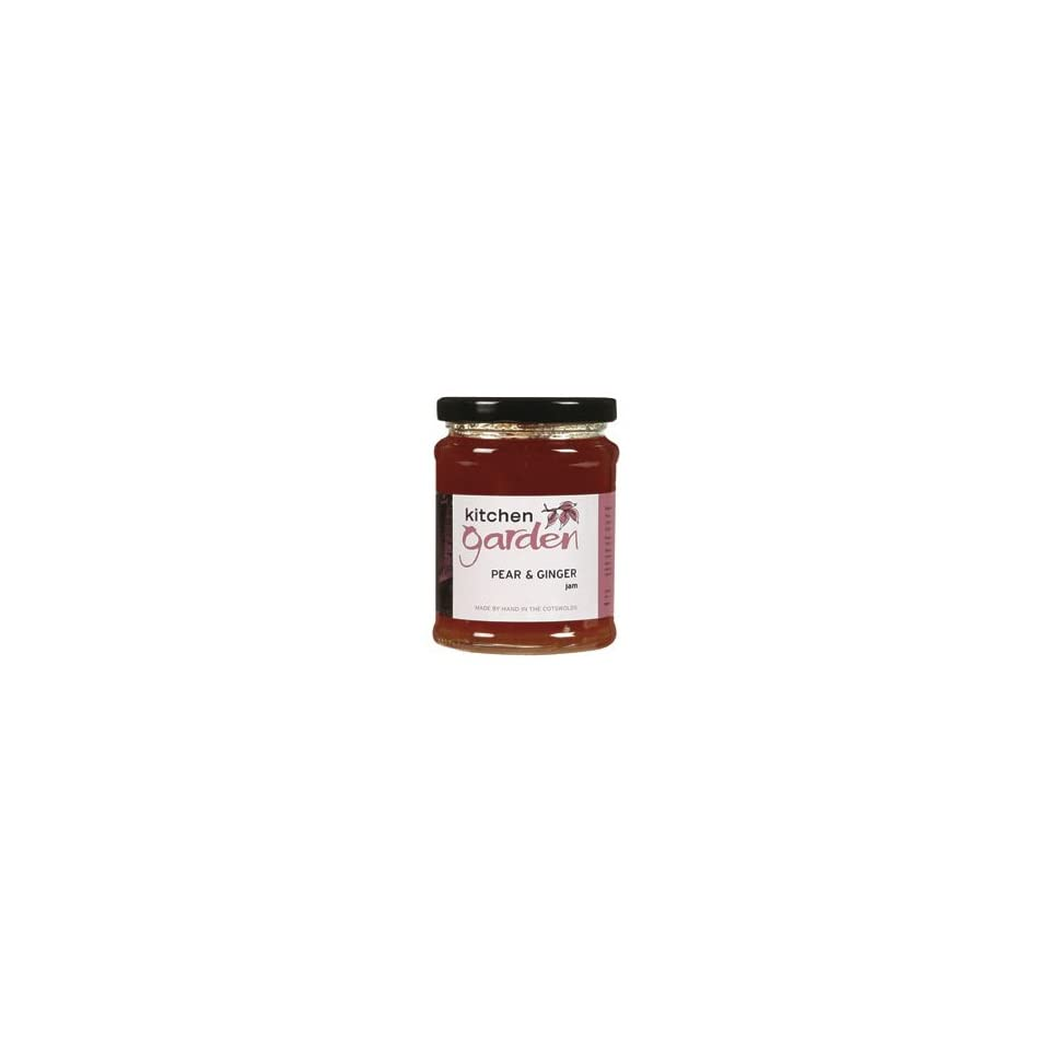 Kitchen Garden Pear Ginger Jam Economy Case Pack 12 Oz Jar Pack