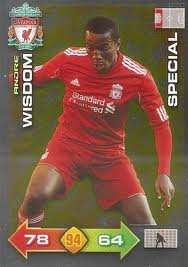Liverpool Adrenalyn XL 2011/2012 Andre Wisdom Special 11/12 [Toy]
