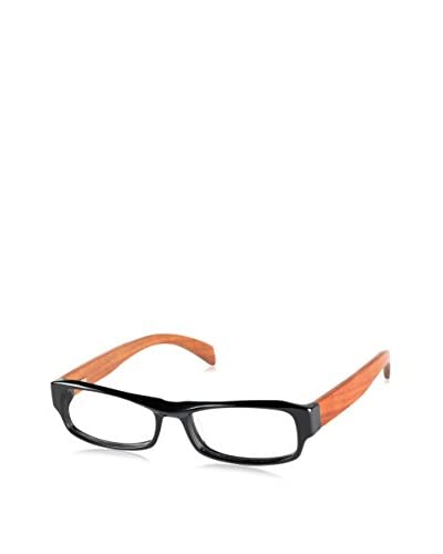 Ivory + Mason Men's A3151 Skylark Eyewear, Black/Cherry